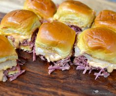 Reuben Sliders with Corned Beef from A Southern Soul  Yes!! Tuesday! ☺️