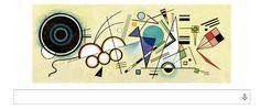 本日12月16日は芸術家カンディンスキーの誕生日