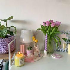 Pastel Room Decor, Pastel Bedroom, Cute Room Decor, Room Design Bedroom, Room Ideas Bedroom, Bedroom Decor, Bedroom Inspo, Indie Room, Pretty Room