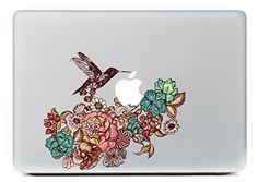 "iCasso Flower Bird Vinyl Decal Sticker Skin for Apple Macbook Pro Air Mac 13"" inch / Unibody 13 Inch Laptop iCasso http://www.amazon.com/dp/B00NTWPSP8/ref=cm_sw_r_pi_dp_43Xrub1K2W77X"