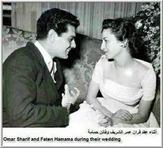 عمر الشريف و فاتن حمامه
