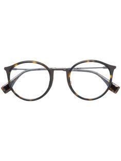 afec50fd621 Fendi Eyewear Armação De Óculos Arredondada - Farfetch