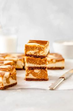 Perfectly fall spiced pumpkin pie is swirled into rich decadent cheesecake baked on a crisp Biscoff cookie crust!  These Pumpkin Swirl Cheesecake Bars are the best Autumn dessert ever! #cheesecake #pumpkin #crust #cookiecrust #biscoff #swirlbars #bars #brownies #falldessert Perfect Pumpkin Pie, Pumpkin Pie Spice, Spiced Pumpkin, Pumpkin Swirl Cheesecake, Cheesecake Bars, Biscoff Cookies, Cake Cookies, Fall Desserts, Just Desserts