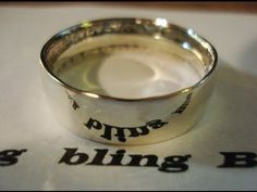 How to Mirror Finish Silver Rings