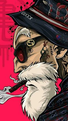 Master Roshi Tattoo In 2019 Stussy Wallpaper Gucci pertaining to Cartoon Tattoos Wallpapers Stussy Wallpaper, Wallpaper Animé, Gucci Wallpaper Iphone, Graffiti Wallpaper, Cellphone Wallpaper, Cartoon Wallpaper, Scary Wallpaper, Joker Wallpapers, Gaming Wallpapers