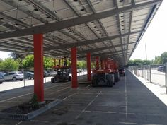 We have over 25 years experience in the Steel Industry. Take a look at a few of our previous projects of Solar Carport and Canopy Structures.