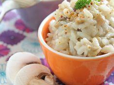 Découvrez la recette Risotto aux champignons de Paris sur cuisineactuelle.fr.