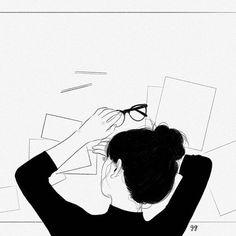 56 Ideas For Black Art Illustration Ideas Drawing Sketches, Art Drawings, Illustration Art, Illustrations, Anime Art Girl, Aesthetic Art, Cartoon Art, Art Inspo, Line Art