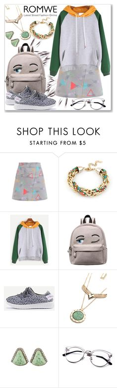 """The theme is:Color Block Hooded Sweatshirt"" by slynne-messer ❤ liked on Polyvore"