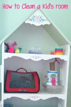 Cleaning a Kid's Room {Organizing} | HeartWorkOrg.com