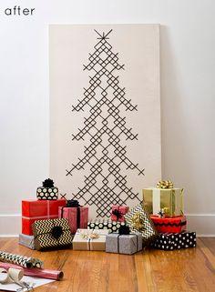 large cross stitch christmas tree.
