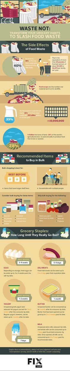The Best Foods To Buy In Bulk, And How To Tell When They Go Bad