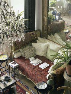 Parisian apartment of Loulou de la Falaise