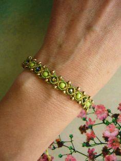 Flechtarmbänder - * Armband Makramée greenery *  - ein Designerstück von crochet bei DaWanda