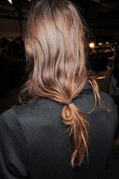 Took great examples of brunette hair from Alexander Wang - Mia Lou 6.37 Jade light brown