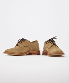 Tricker's x Superdenim Gaucho Suede Tramping Shoe - Superdenim