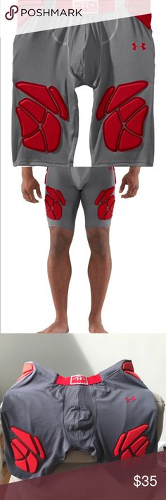 Under Armour padded football girdle Brand new with tags. Under Armour Padded football shorts Under Armour Shorts Athletic