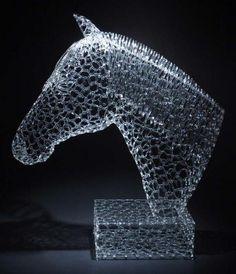 Волшебное кружево из стекла - Ярмарка Мастеров - ручная работа, handmade