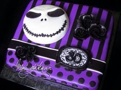 Gorgeous purple n black Jack Nightmare Before Christmas
