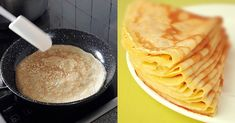 Crepes, Peanut Butter, Pancakes, Sweet Treats, Recipies, Food And Drink, Healthy Recipes, Healthy Food, Sugar
