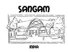 Sangam colouring sheet
