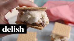 How To Make S'Mores Ice Cream Sandwiches | Delish
