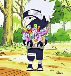 Kakashi Hatake, Sakura E Sasuke, Naruto Cute, Naruto Funny, Naruto Shippuden Sasuke, Naruto And Sasuke, Gaara, Boruto, Chibi Naruto Characters