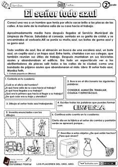 Lectura y comprensión para 2º - Actiludis https://www.pinterest.com/jacquesoger/clase-de-espa%C3%B1ol/