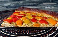 Régime Dukan (recette minceur) : Tarte tiède aux poivrons et cantal #dukan http://www.dukanaute.com/recette-tarte-tiede-aux-poivrons-et-cantal-8417.html