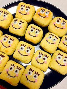 Sweet potato tart #spongebob