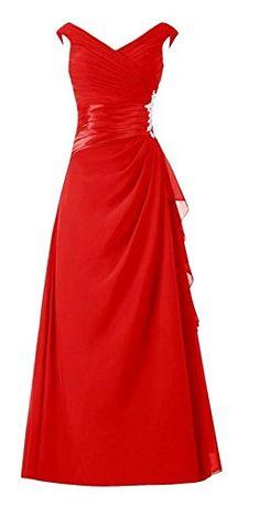 Endofjune Long Cap Sleeves Pleated Chiffon Mother of the Bride Dress US-0 Red Endofjune http://www.amazon.com/dp/B015H7IK2A/ref=cm_sw_r_pi_dp_OOEbwb0MMWR36