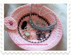cuenco rope lanas coiled basket Lana, Crochet Earrings, Jewelry, Jute, Jewlery, Jewerly, Schmuck, Jewels, Jewelery
