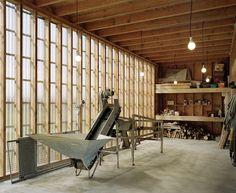 RAUM: Oyster farm hangar and temporary dwelling