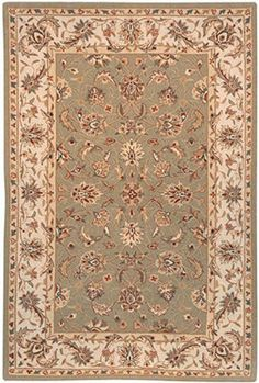 """Chelsea HK78 Sage 2' 6'' x 12' Traditional Area Rug by Safavieh. $198.93. Sage. China. Hand Hooked. 100% Wool. 2' 6'' x 12'. Chelsea HK78D sage / ivory rug by Safavieh Rugs is a hand made rug made from wool. It is a 2 x 12 area rug runner in shape. The manufacturer describes the rug as a sage / ivory 2'6"""" x 12'0"""" area rug. Buy discount rugs with Buy Area Rugs .com SKU hk78d-11