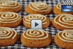 Pumpkin Cookies have a wonderfully soft and spongy texture and taste of pumpkin and its complementary spices (ground cinnamon, ginger and cloves). Absolutely delicious with a cream cheese frosting.  From Joyofbaking.com With Demo Video