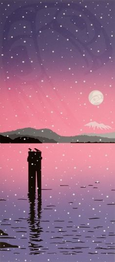 """"""" SIDNEY SNOW """" Roy Henry Vickers is a Canadian First Nations artist. He owns and operates a gallery in Tofino, British Columbia. Vickers was born on the Nass River but raised in Kitkatla, Hazelton, British Columbia, and Victoria, B.C."""