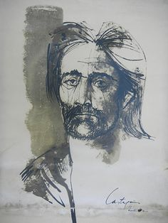 Nombre: Martin Fierro en Sepia N° 887/1000 | Autor: Juan C. Castagnino | Técnica: Serigrafia | Alto: 65cm | Ancho: 45cm | Año: 1962
