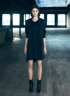 ALLSAINTS Spring 2014. Womenswear. Look 11 #ALLSAINTSNYFW