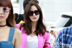 #YoonA #SNSD #SMTOWN #160715  #Incheon Airport to #Osaka #Japan #airportfashion #2016
