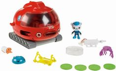 Action-packed adventures with Barnacles and Gup-X that transforms into 3 different vehicles.View larger Rescue-Ready When there is trouble under the sea the Octonauts dive into action. Their missi...