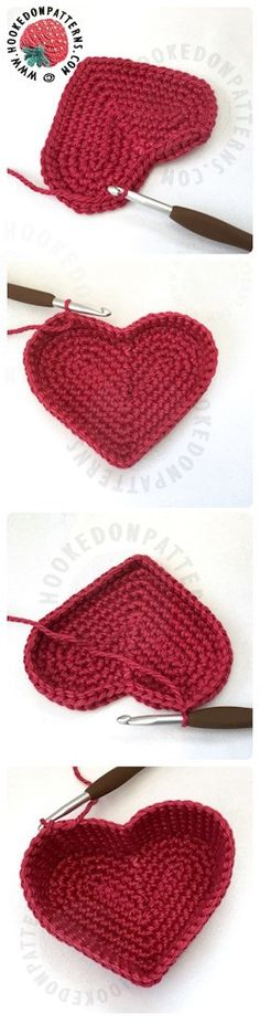 Heart Baskets Crochet Pattern
