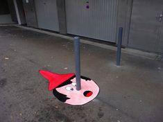 ストリートアート ピノキオ
