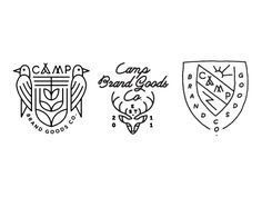 Camp Brand Goods Co. winter line wips by Keith Davis Young