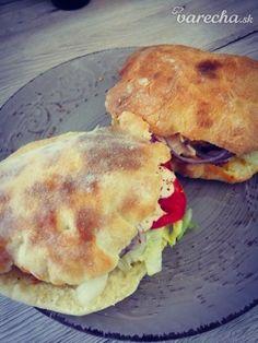 Pita chlieb (fotorecept) - recept | Varecha.sk Pancakes, Pizza, Breakfast, Food, Basket, Morning Coffee, Essen, Pancake, Eten