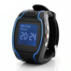 GPS Cell Phone Watch with SOS Calls - Quad Band, Two Way Calling - Mobile Shop