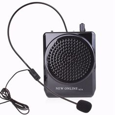 4 Color New Waistband Portable Voice Amplifier Speaker With Microphone Loudspeaker Megaphone For Teacher Tour Guide Gym