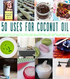 50 uses for coconut oil - illistyle.com