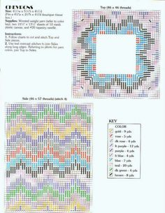 Bargello Chevrons TBC Plastic Canvas Stitches, Plastic Canvas Tissue Boxes, Plastic Canvas Crafts, Plastic Canvas Patterns, Bargello Patterns, Bargello Needlepoint, Tissue Box Covers, Tissue Holders, Scrappy Quilts