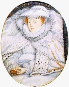 Portrait of Queen Mary I of Scotland, known as Mary Queen of Scots