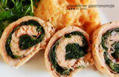 salmon stuffed with spinach www.porodicnegastronomije.com